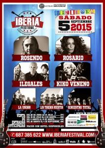 Cartel Iberia Festival Benidorm 2015 (2)