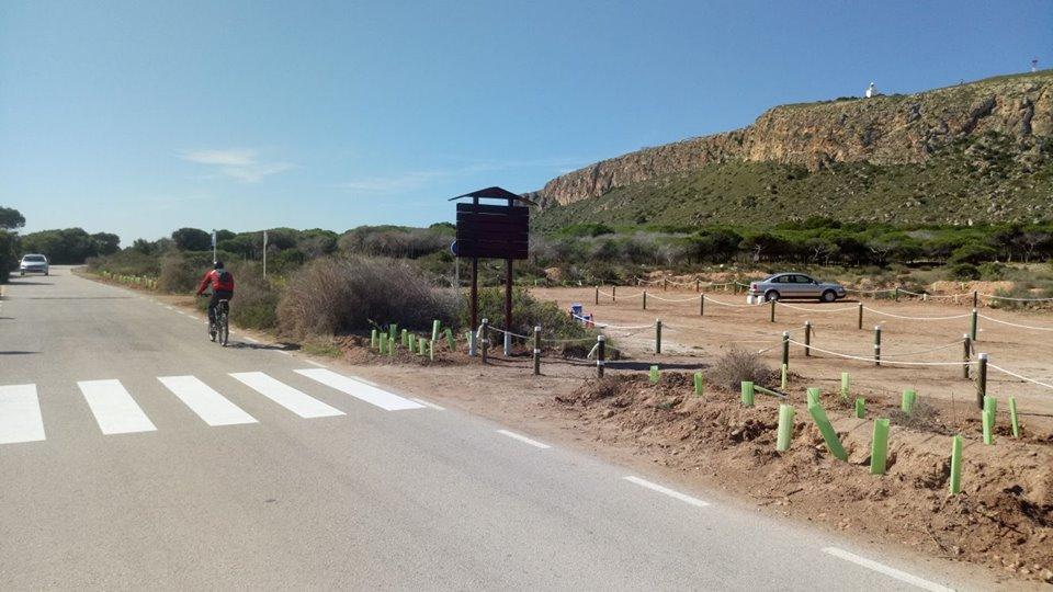 Completada con xito la primera fase de trabajos para regenerar y poner en valor el cabo de - Cabo santa pola ...